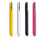 Telefony komórkowe w kolorowych obudowach